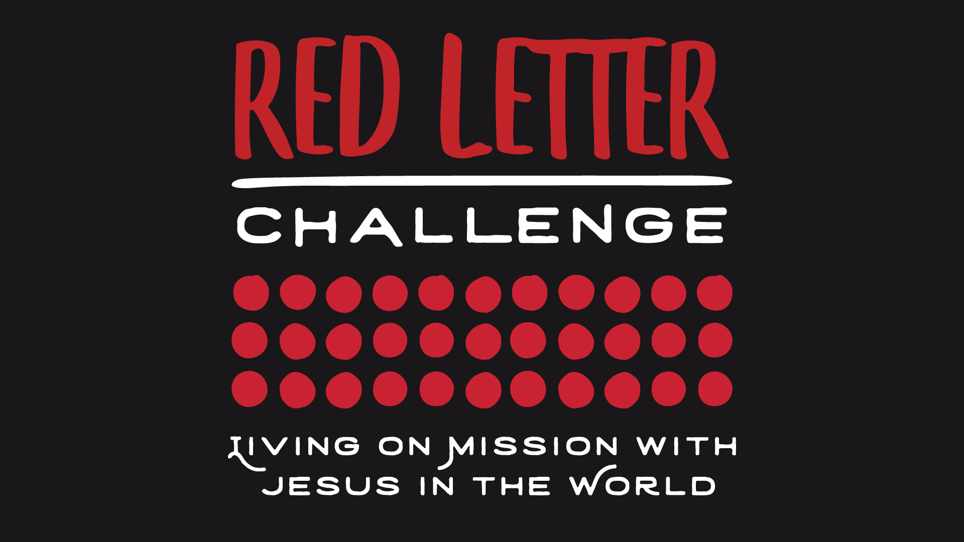 Red Letter Challenge – Giving