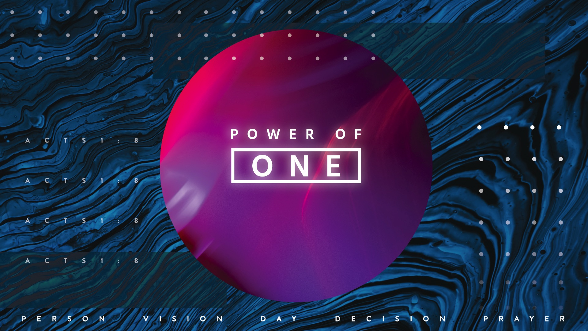 Power of One Person